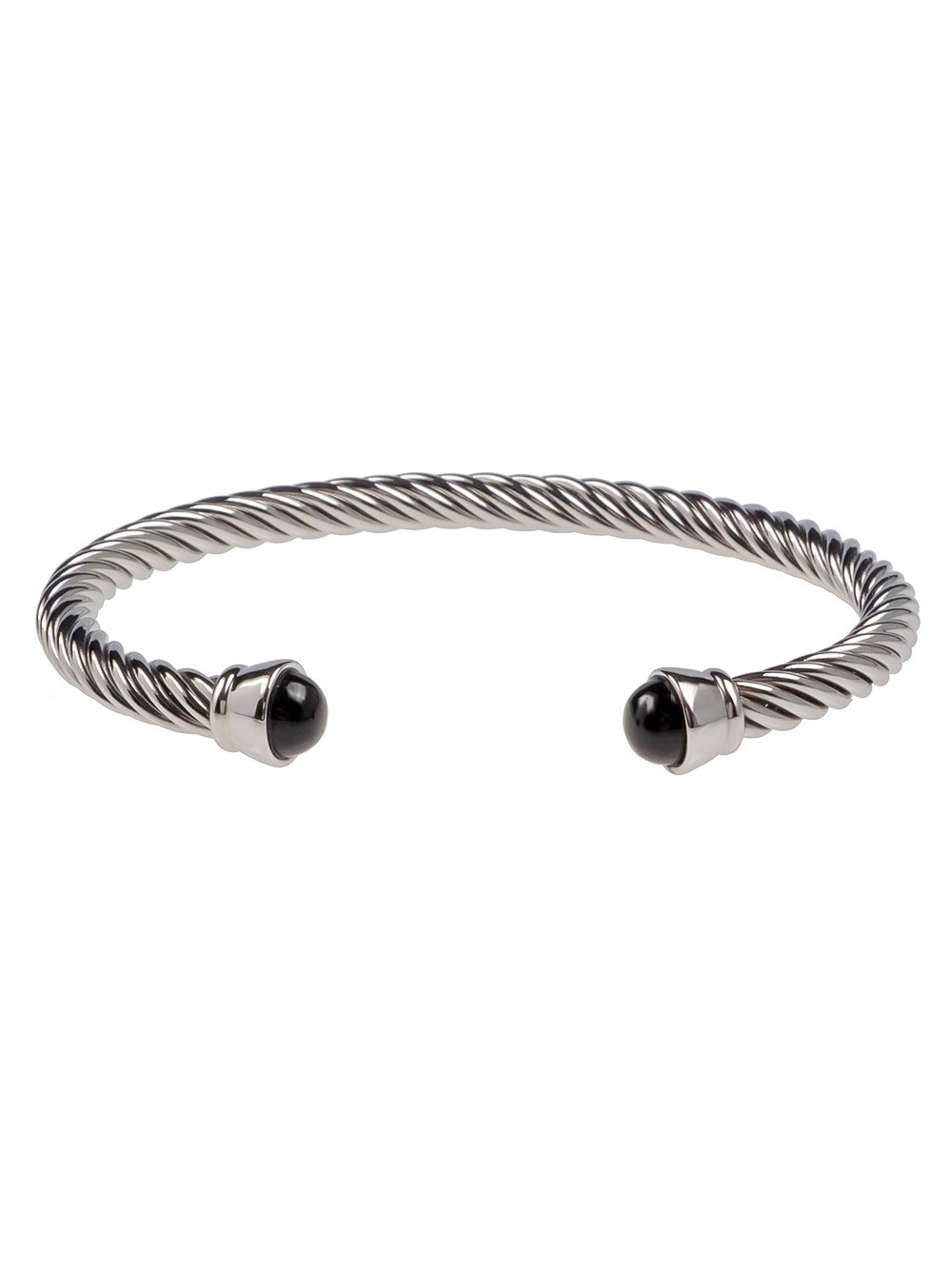 BANGLE TWIST BLACK