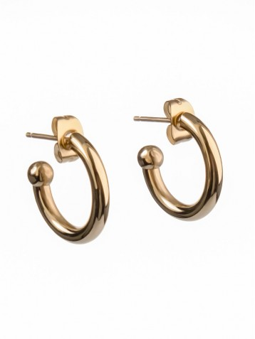 EARRINGS GOLDEN CREOLE