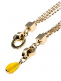 PIXIE DUST - YELLOW AGATE DROP