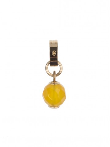 PIXIE DUST - YELLOW AGATE DOT