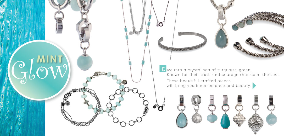 Mint Glow Jewellery Collection